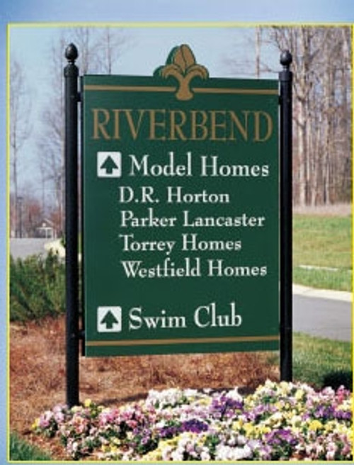 Cemetery Sign