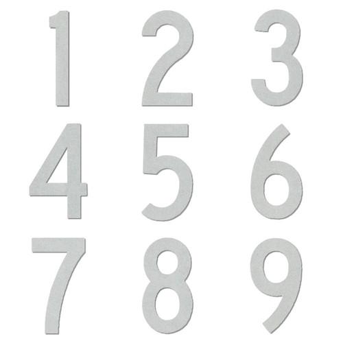 Reflective Number Packs