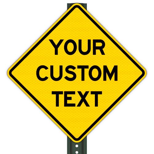 Custom Warning Signs (All Sizes)