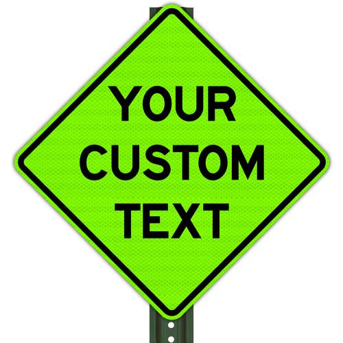 Custom School Zone Signs (All Sizes)