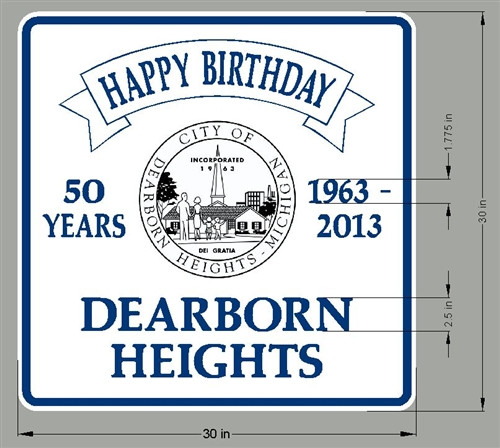 Dearborn Heights City Birthday