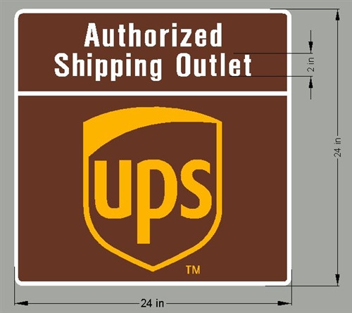 Safety Decals for UPS