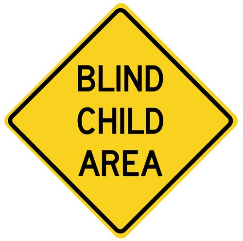 BLIND CHILD AREA