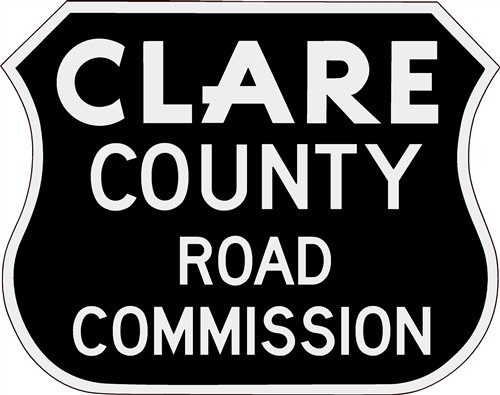 Clare County Road Commission Truck Decal