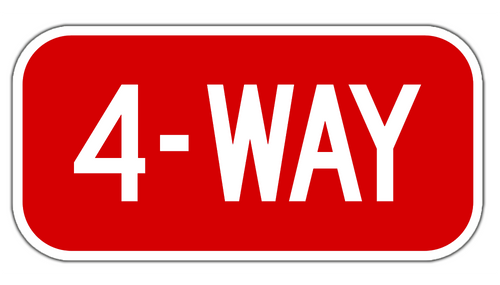 4-Way Sign