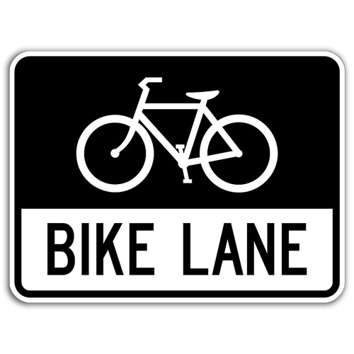 R3-17 Bike Lane Sign