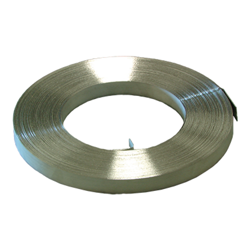 "3/4""m x .20 x 100' STAINLESS STEEL STRAPING"