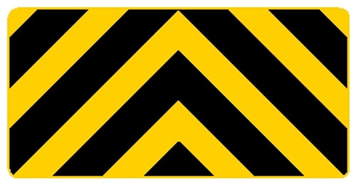 Bi-directional Chevron Sign