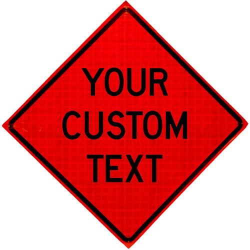Custom Roll-Up Sign