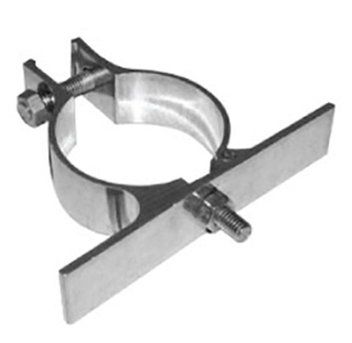 sign bracket for mounting sign to round post
