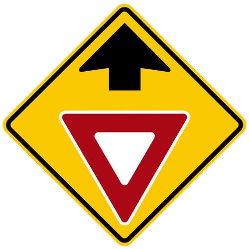 W3-2 Yield Ahead Symbol