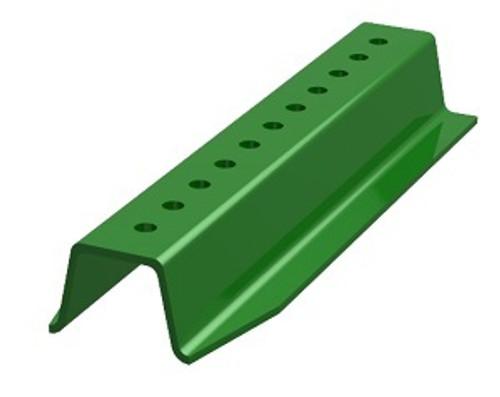 12'3LB GREEN U-CHANNEL SIGN POST