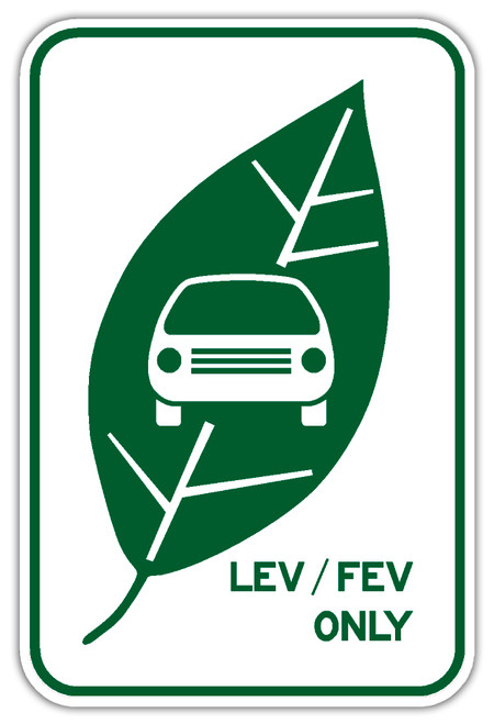 Electric Vehicles Charging Sign