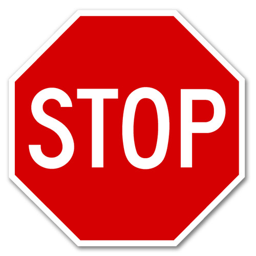 "R1-1 STOP SIGN 24"" X 24"""