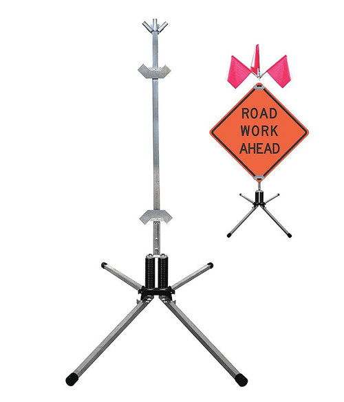TF-18 COMPACT ROLL-UP SIGN STAND