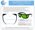 LG-008 Laser Safety Eyewear - Email and Print Brochure