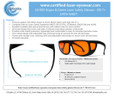 LG-005 190-532nm Laser Safety Glasses - Printable or Email Brochure