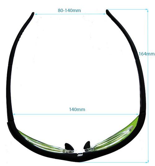 LG-001s Nd YAG Laser Modern Eyewear Dimensions