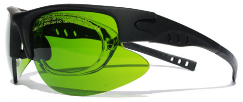 Telecom Laser Safety Glasses - LG-008s - 820-1720nm - OD 3+