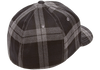 flexfit-tartan-plaid-cap-Black/Gray 1