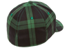 flexfit-tartan-plaid-cap-black-green  6