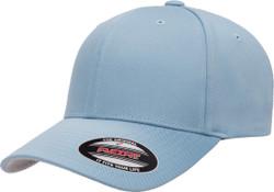 Flexfit Wooly Combed Cap Carolina Blue 1