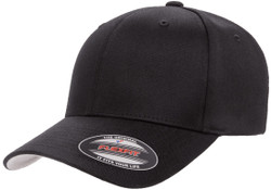 Flexfit Wooly Combed Cap Black 1