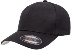 Flexfit Premium Wool Blend Cap Black