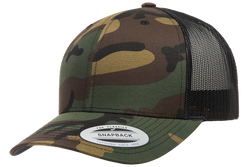 6606CA Retro Trucker Camo