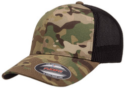 Flexfit Multicam Trucker Mesh Cap - Multicam