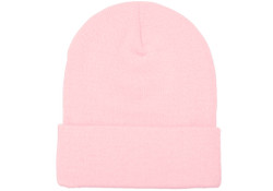 Yp Classics Cuffed Knit Beanie -  Baby Pink