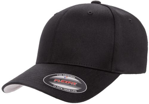 Flexfit Wooly Combed Cap Xxl Black