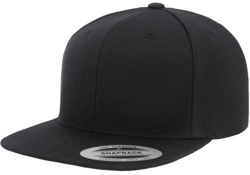 Yp Classics Premium Snapback Cap - Black