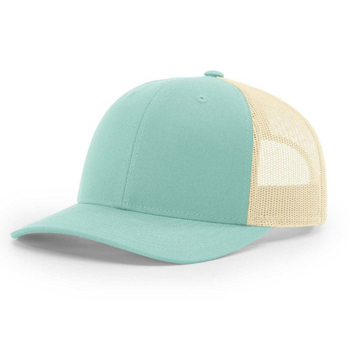 115 Richardson Cap Low Pro Trucker- Aruba Blue/Birch