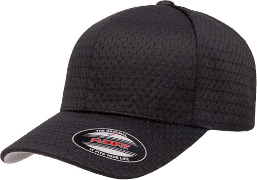 Flexfit Athletic Mesh Cap - Black