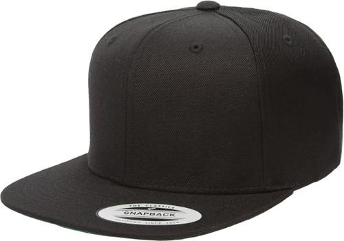 6089M XXL Black Snapback