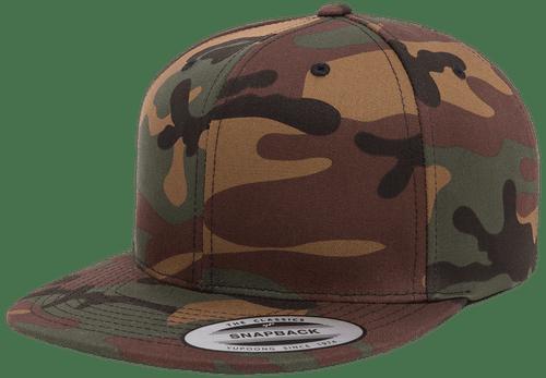 6089CM PREMIUM SNAPBACK CAMO CAP