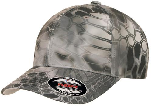 New Flexfit® Kryptek® Curved Visor Cap 6277KR-RAID