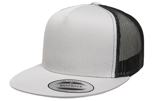 Classic Snapback Trucker Two-Tone - Silver/Black