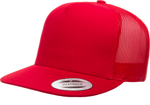 Classic Snapback Trucker - Red