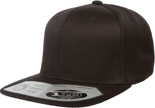110F Flexfit One Ten Snapback-Black