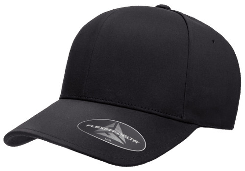 Flexfit Delta Cap - Black