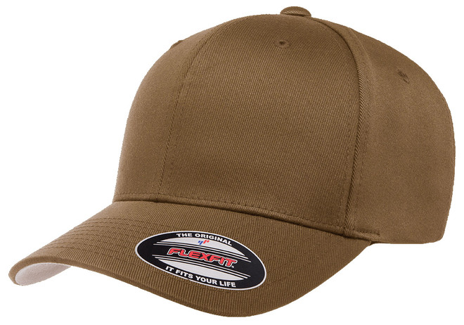 Flexfit Wooly Combed Cap Coyote Brown 1
