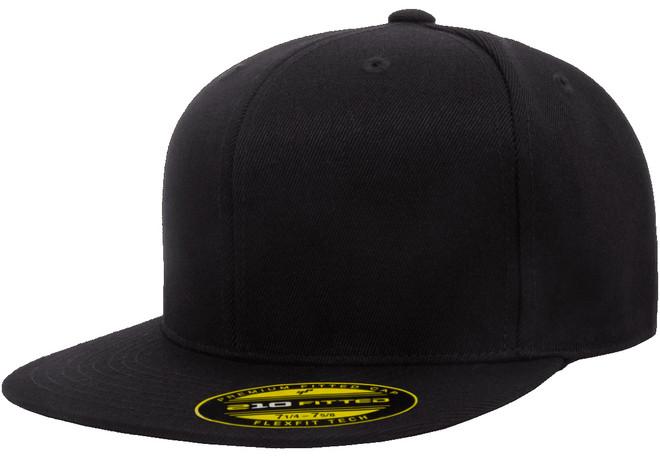 Flexfit 210 Premium Fitted Cap - Black
