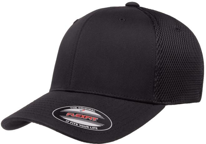 Flexfit Ultrafibre Airmesh Cap - Black