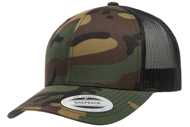 7163f19b3a6 6606CA Retro Trucker Camo - The Hat Pros