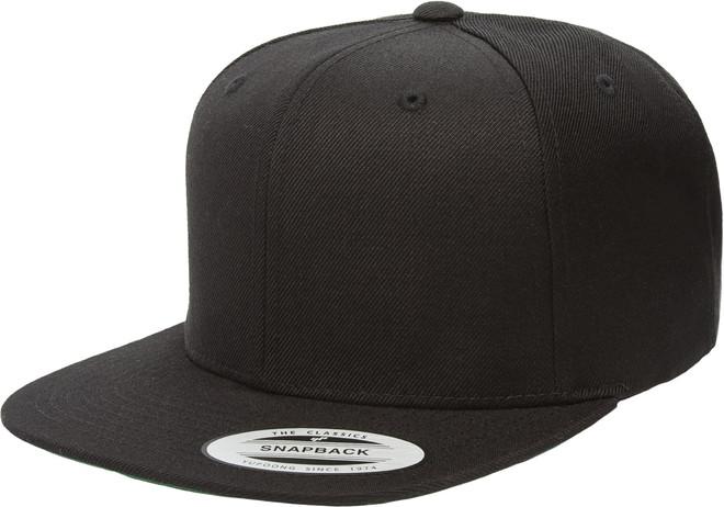 ae8fbc0e9202b Yupoong. 6089M YUPOONG HAT SNAPBACK PRO-STYLE WOOL BLEND CAP BLACK XXL