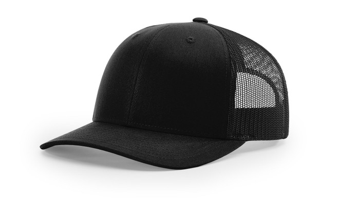 New Richardson Precurved Recycled Trucker Cap 112RE