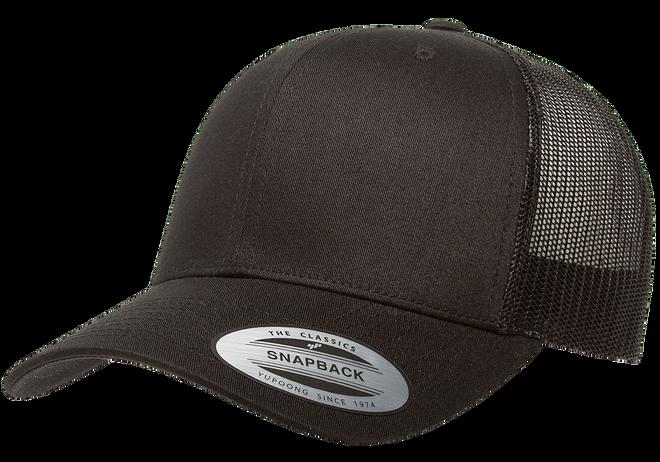 New High Quality Classic Plain White Trucker Mesh Snapback Cap hat