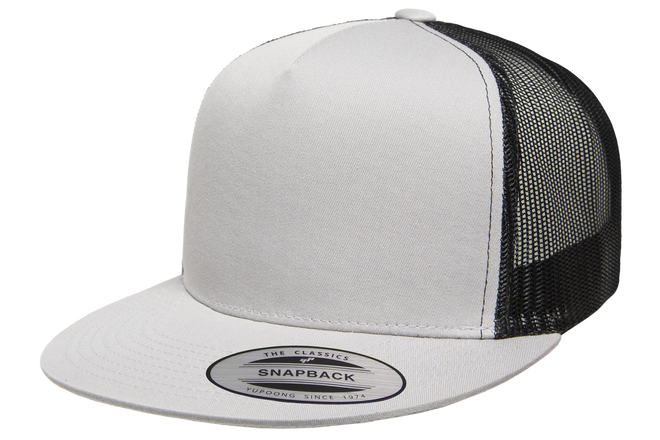 6006T Classic Snapback Trucker Two-Tone - The Hat Pros c8f4d1f9ee23